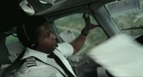 A scene from the movie flight