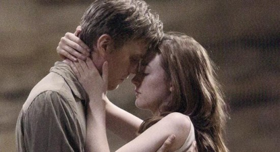 Jake Abel and Saoirse Ronan in 'The Host'