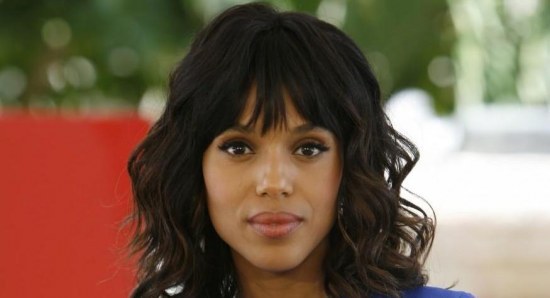 Kerry Washington at the press call for 'Django Unchained'