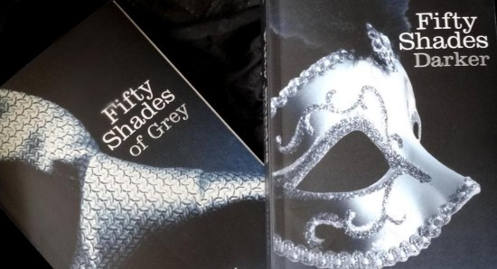 Fifty Shades of Grey book covers