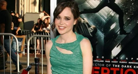 Ellen Page at Inception premiere