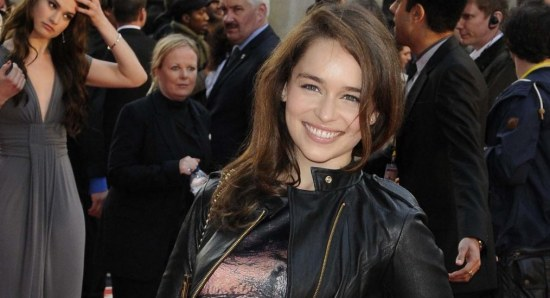 Emilia Clarke is busy with promotion for Game of Thrones