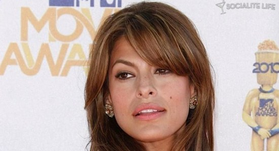 Eva Mendes at the MTV Movie Awards