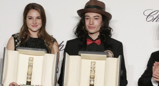 Ezra Miller and Shailene Woodley get awards at the Venice Film Festival