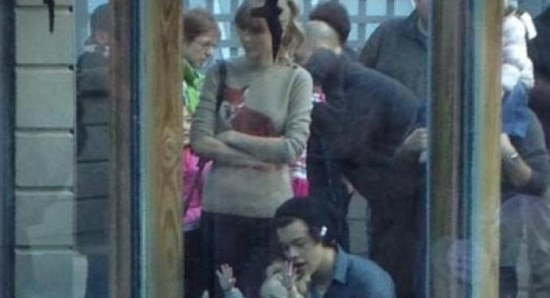 First pictures of Harry Styles and Taylor Swift together
