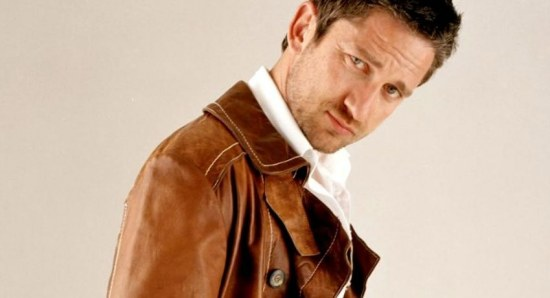 Gerard Butler poses for a press photo