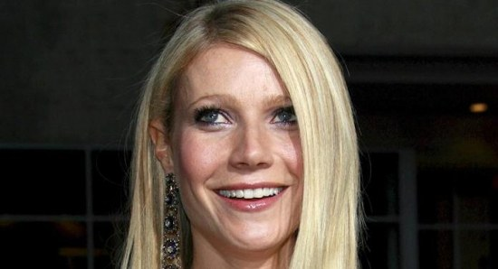 Gwyneth Paltrow at a premiere for 'Iron Man'