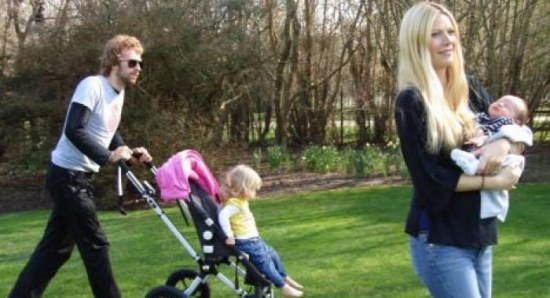 Gwyneth Paltrow and her family