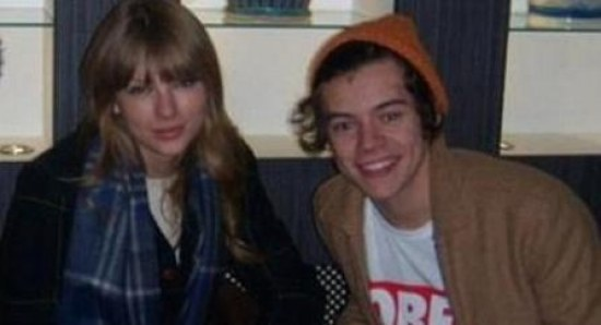Harry Styles with Taylor Swift