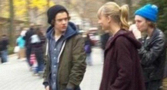 Harry Styles with ex Taylor Swift