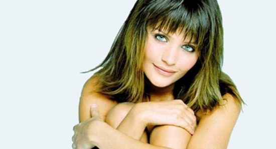 Helena Christensen in her younger years
