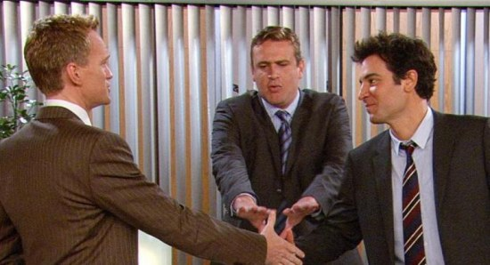 Scene from How I Met Your Mother