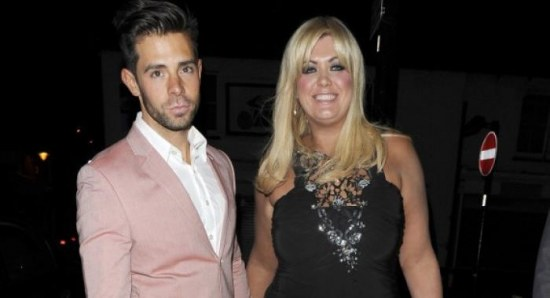 Charlie King with his ex girlfriend Gemma Collins