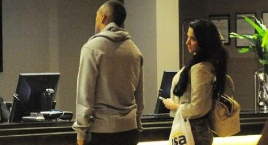 Tulisa with her new boyfriend Danny Simpson