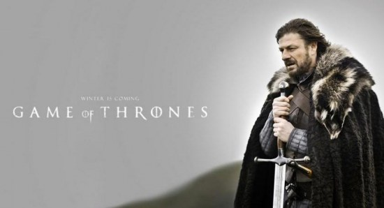 A poster for the first season of 'Game of Thrones'