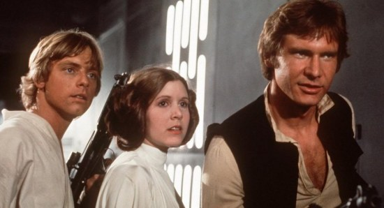 Star Wars original trio