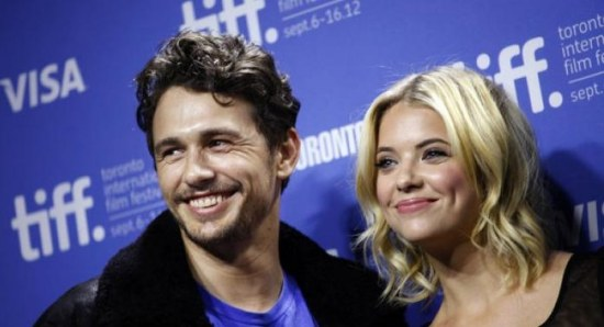 James Franco and Ashley Benson at TIFF for Spring Breakers