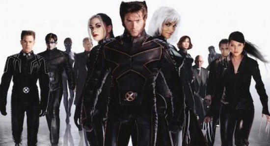 The cast of the X-Men trilogy
