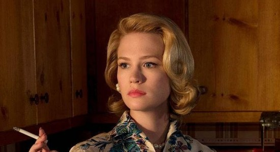 January Jones as Betty Draper in 'Mad Men'