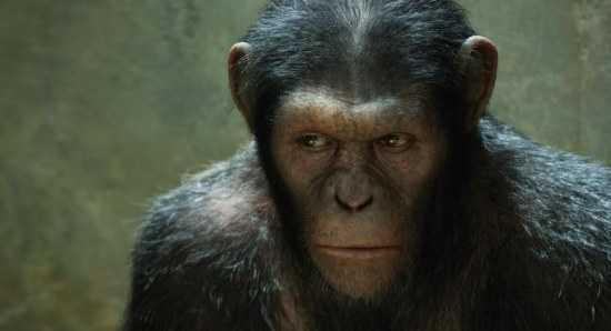 Caesar in 'Rise of the Planet of the Apes'