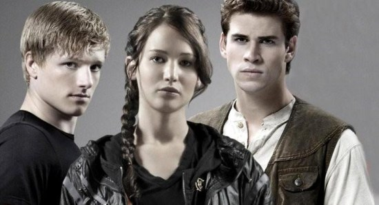 The Hunger Games love triangle
