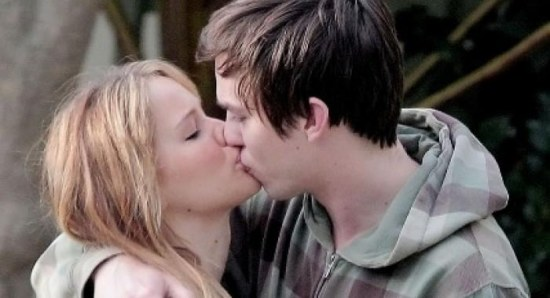 Jennifer Lawrence with boyfriend Nicholas Hoult