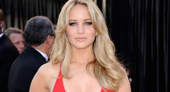 Jennifer Lawrence at last year's Oscars