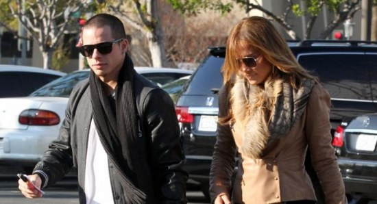 Jennifer Lopez with Caper Smart
