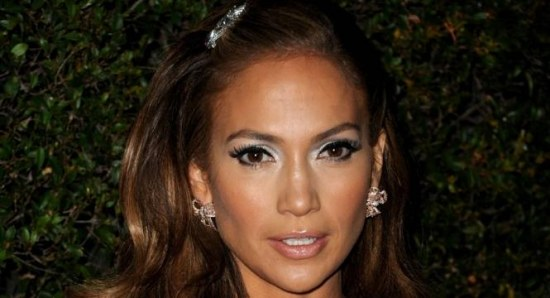 Jennifer Lopez at the annual Vanity Fair party