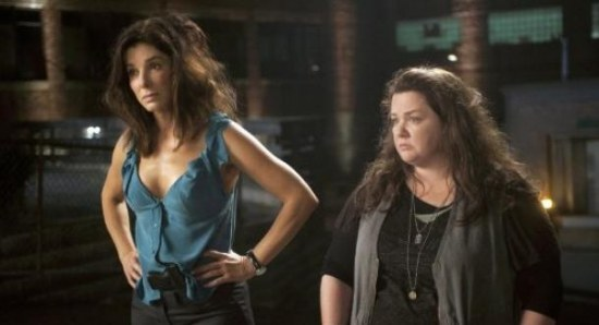 Melissa McCarthy in an upcoming film with Sandra Bullock