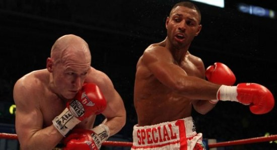 Kell Brook beating Matthew Hatton