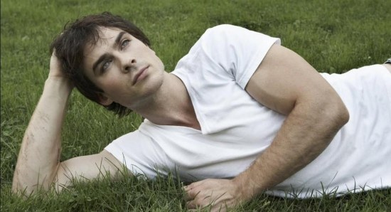 Ian Somerhalder is the fans favourite to play Christian Grey