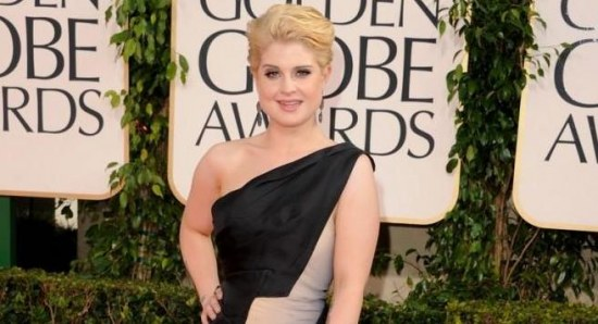 Kelly Osbourne at the Golden Globes