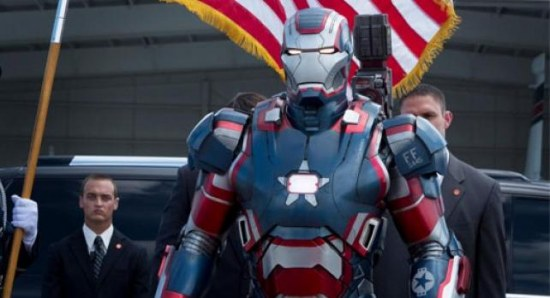 Scene from Iron Man 3