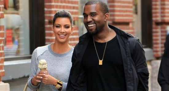 Kim and Kanye have only been dating for eight months