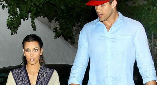 Kim Kardashian and Kris Humphries in happier times
