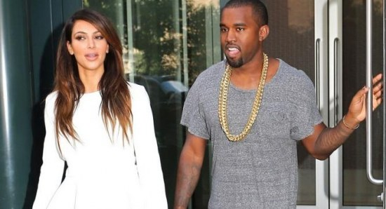 Kim Kardashian and boyfriend Kanye West