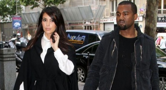 Kim is dating rapper Kanye West