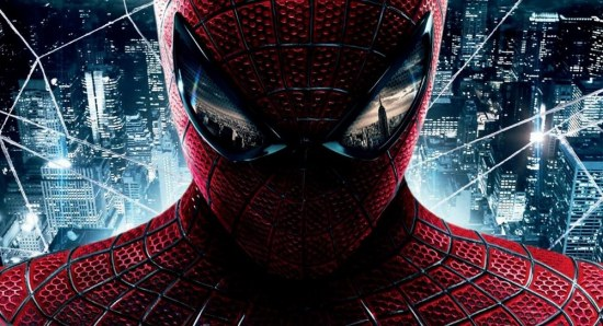The poster for 'The Amazing Spider-man'