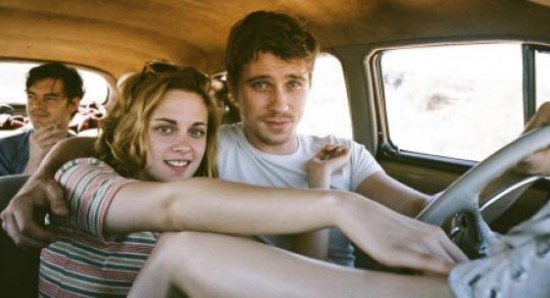 Kristen Stewart with Garrett Hedlund in On The Road
