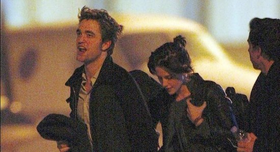 Kristen Stewart and Robert Pattinson out and about