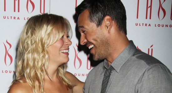 LeAnn Rimes and Eddie Cibrian all smiles