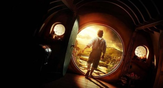 'The Hobbit: An Unexpected Journey' is at #3