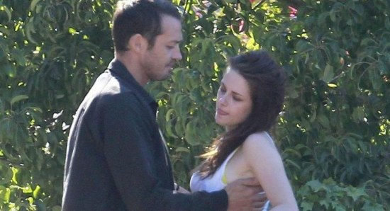 Rupert Sanders and Kristen Stewart caught together