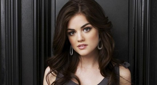 Lucy Hale in a photoshoot for 'Pretty Little Liars'