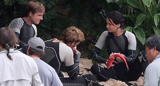 The Hunger Games: Catching Fire set picture