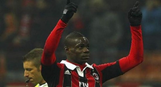 Balotelli scored 4 goals in 3 matches for Milan already