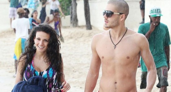 Michelle Keegan with Max George