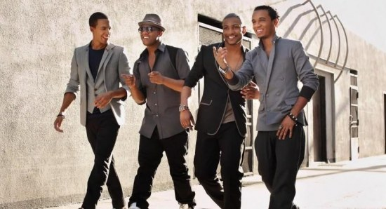 Marvin Humes and his JLS boys