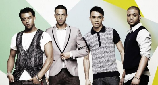 Marvin and his JLS boys